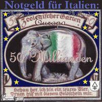 DH-Italien_Elefant_Notgeld