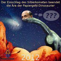 DH-Silberkomet_Bernanke_Papiergeld-Dino