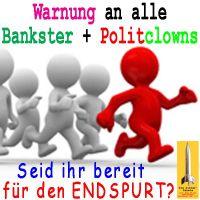 SilberRakete_Bankster-PolitClowns-Endspurt