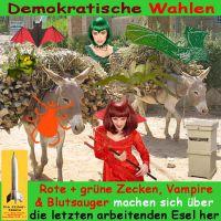 SilberRakete_Demokratie-Wahl-Esel-Blutsauger