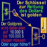 SilberRakete_Dollar-Schluessel-GOLD-Deckung