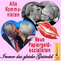 SilberRakete_Kommunisten-Sozialisten-Kuss