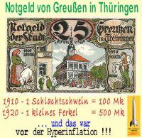 SilberRakete_Notgeld-Inflation-Schweinepreis