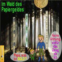 SilberRakete_Papiergeld-Wald-Gold