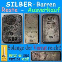 SilberRakete_Alte-Silber-Barren-Reste-Verkauf-Vorrat-wertlos