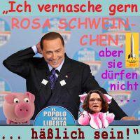 SilberRakete_Berlusconis-Rache-Rosa-Schweinchen-Nahles
