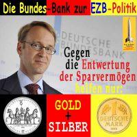 SilberRakete_Bundes-Bank-EZB-GOLD-SILBER