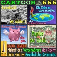 SilberRakete_Cartoon666-Verschwoerung-Nichts-glauben-ohne-Recht-Kriminelle
