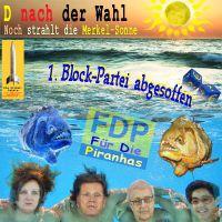 SilberRakete_D-Wahl-Merkel-Sonne-FDP-abgesoffen-Piranha
