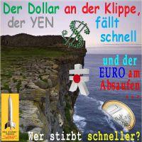 SilberRakete_DOLLAR-Klippe-YEN-fallen-EURO-absaufen