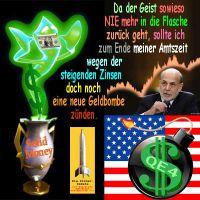 SilberRakete_Dollar-Flaschengeist-Bernanke-USA-Zinsen-10Jahre-neues-Geld-QE4