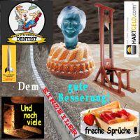 SilberRakete_EINZEILER-Zahnarzt-Kuchen-Keller-Merkel-Guillotine