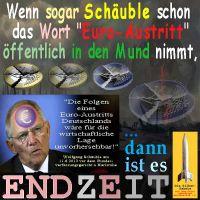 SilberRakete_ENDZEIT-Schaeuble-EURO-Austritt