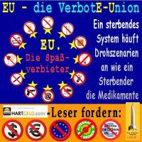 SilberRakete_EU-Verbote-Union-Spass-Verbieter-HGLeser-fordern-Dollar-Euro-EU-Gruene-Partei-Verbot