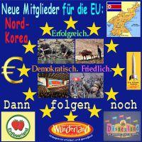 SilberRakete_EU-neue-Mitglieder-Nord-Korea-Erdbeer-Wunder-Disney-Land