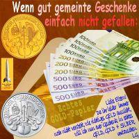 SilberRakete_Eltern-Geschenk-nicht-gefallen-EURO-Umschlag-umtauschen-GOLD-SILBER