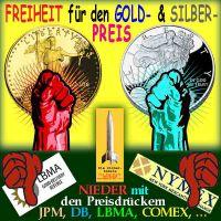 SilberRakete_FREIHEIT-GOLD-SILBER-Preis-Nieder-JPM-DB-LBMA-COMEX3
