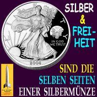 SilberRakete_Freiheit-Silber-selbe-Seite-Silbermuenze