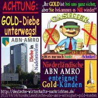 SilberRakete_GOLD-Diebe-ANB-AMRO-Kassierer-Papier-Schnitzel