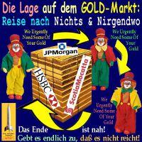 SilberRakete_GOLD-Markt-JPM-HSBC-ScotiaMocatta-Reise-nach-Nirgendwo-3Narren
