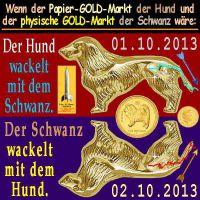 SilberRakete_GOLD-Markt-Papier-physisch-Hund-Schwanz-wackeln