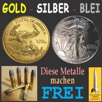 SilberRakete_GOLD-SILBER-BLEI-Metalle-frei