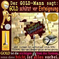 SilberRakete_GOLDMann-GOLD-Wand-Schutz-Enteignung-System-Front-vorbei