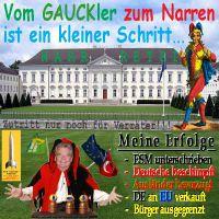 SilberRakete_Gauck-Gaukler-Narr-Bellevue-Erfolge-ESM-Verrat