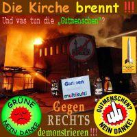 SilberRakete_Kirche-Garbsen-brennt-Gruene-Gutmenschen-Gegen-Rechts