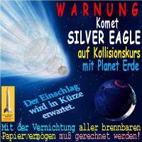 SilberRakete_Komet-Silver-Eagle-Kollisionskurs-Erde