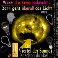 SilberRakete_Krise-Licht-aus-Sonne-Viertel-dunkel-schwarze-Gluehbirnen