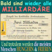 SilberRakete_Notgeld-SDH-Milliardaere-Hungern-Frieren