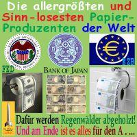 SilberRakete_Papierproduzent-FED-BoJ-EZB-Klopapier3