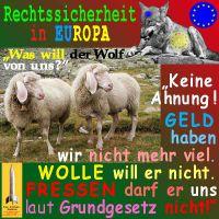 SilberRakete_Rechtssicherheit-Europa-Wolf-Schafe-Geld-Wolle-Fressen2