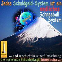 SilberRakete_Schuldgeldsystem-endliches-Schneeballsystem-Fujiyama
