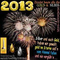 SilberRakete_Silvester-2013-GOLD-SILBER-Raketen-Sterne