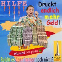 SilberRakete_Spanien-Rajoy-mehr-Geld-drucken-pleite