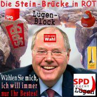 SilberRakete_Steinbrueck-Wahl-SPD-Ente-Bruecke-Luegen2