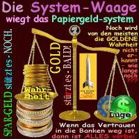 SilberRakete_System-Waage-Papiergeld-Spargeld-GOLD-Wahrheit2