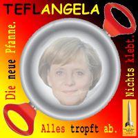 SilberRakete_Teflon-Pfanne-Merkel-TEFLANGELA