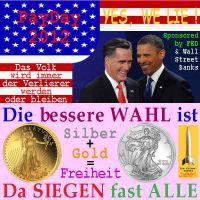 SilberRakete_USA-Wahl2012-Obama-Romney-Gold-Silber-Freiheit