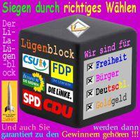 SilberRakete_Wahl-Block-Parteien-Deutschland-Luegen