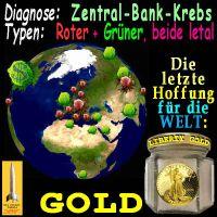 SilberRakete_Welt-Zentral-Bank-Krebs-rot-gruen-Hoffnung-GOLD