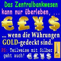 SilberRakete_Zentralbankwesen-Goldgedecktes-Geld