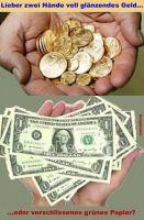 HK-Lieber-zwei-Haende-voll-glaenzendes-Geld-oder-verschlissenes-gruenes-Papier