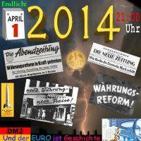 SilberRakete_1April2014-Zeitungen-Waehrungsreform-Goldmark-DM2-EURO-ist-Geschichte