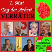 SilberRakete_1Mai-Arbeiter-Verraeter-Riester-Steinkuehler-Schulte-Sommer-Bsirske-Buntenbach-DGB-SPD