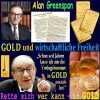 SilberRakete_Alan-GREENSPAN-GOLD-wirtschaftliche-Freiheit-Vortragshonorare-Rette-sich-wer-kann-in-GOLD