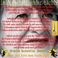 SilberRakete_Alice-Schwarzer-Diener-fremder-Maechte-Zitat-NicholasRockefeller-keine-Hexenjagd