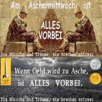 SilberRakete_Aschermittwoch-alles-vorbei-Spitzweg-Geld-Asche-Wuensche-Traeume-brechen-Philharmoniker